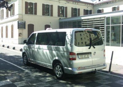 mini-bus taxi serre chevalier